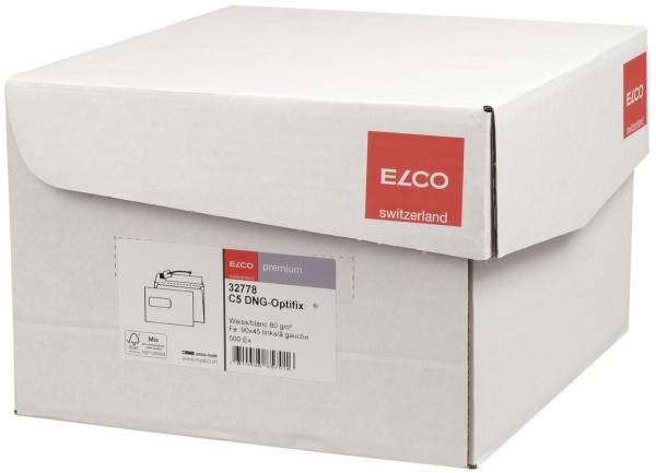 ELCO Briefhülle m.Fenster C5 HK 80g weiß 32778 Office Box 500ST