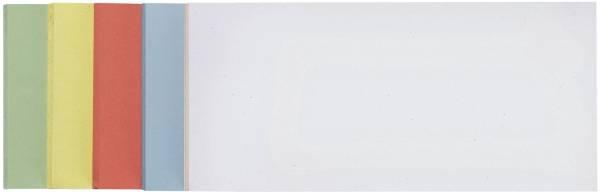 FRANKEN Moderationskarte 20,5x9,5mm 100 St. sort UMZE 1020 99 selbsthaftend