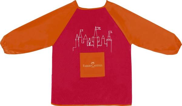 FABER CASTELL Malschürze rot/orange 201204