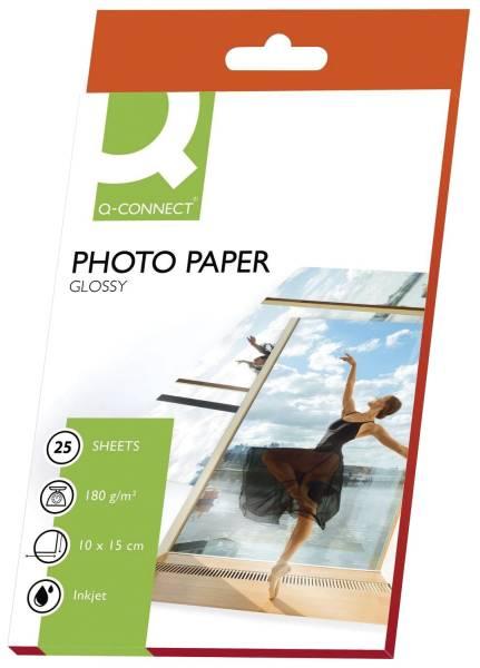Inkjet Photopapiere 10x15 cm, hochglänzend, 180 g qm, 25 Blatt