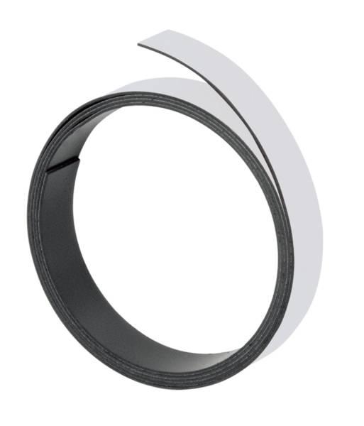 FRANKEN Magnetband grau M801 12/1mx5mm