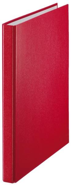 4209 Standard Ringbuch, 2 Ringe A4, Ring Ø 16 mm, rot