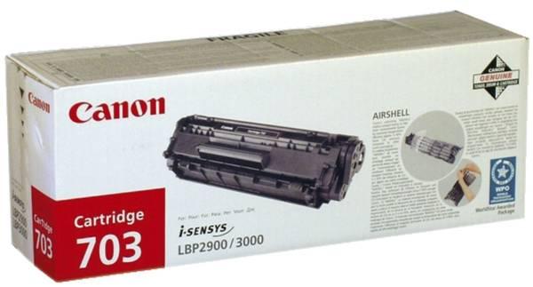 CANON Lasertoner EP-703 schwarz 7616A005