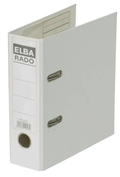 ELBA Ordner A5 hoch 75mm weiß 100022642