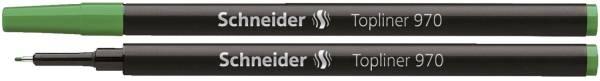 SCHNEIDER Feinlinermine 970 grün SN9704 TOPLINER