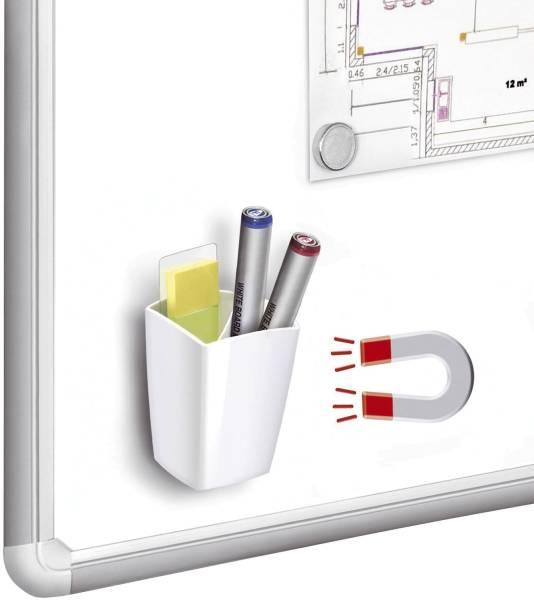 Köcher Pro magnetisch weiß