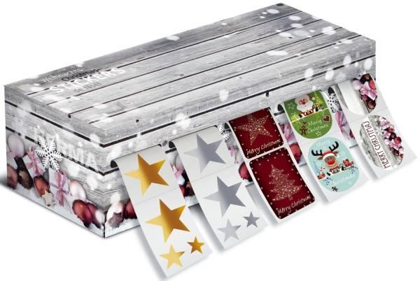 Weihn Sticker 5er Box Set 2 sort