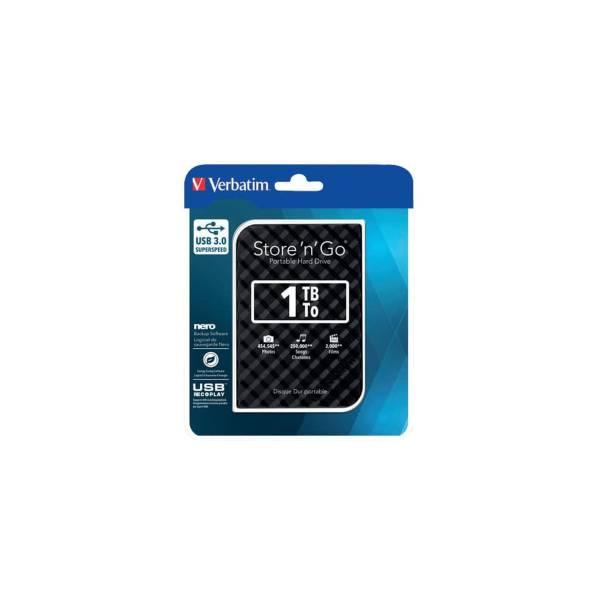VERBATIM Festplatte extern 1TB schwarz 53194