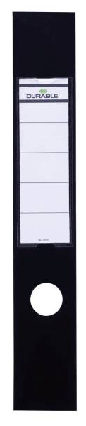 Rückenschilder ORDOFIX lang breit, schwarz, 10 Stück®