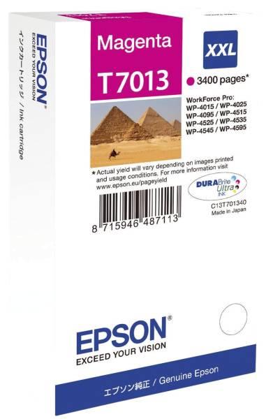 Original Tintenpatrone magenta XXL (C13T701340,C13T70134010,T701340,T7013,T70134010)
