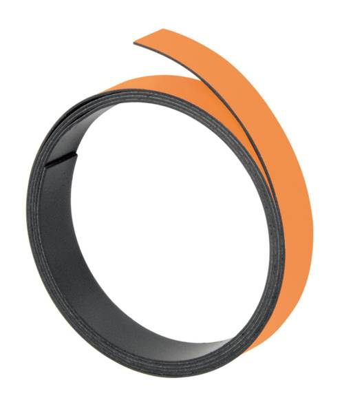 FRANKEN Magnetband orange M801 05/1mx5mm