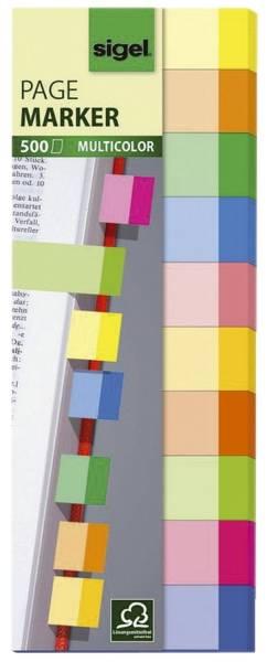SIGEL Haftmarker sort, HN682 Multicolor