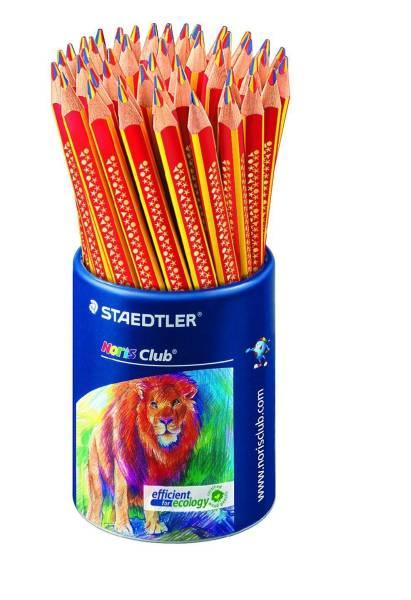 Farbstift Noris Club 4 mm, gelb rot blau, Köcher mit 50 Stiften®