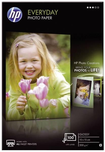 Fotopapiere Standard A4, glänzend, 200 g qm, 25 Blatt