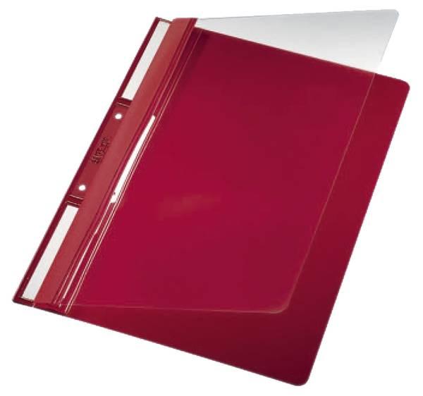 4190 Einhängehefter Universal A4, 250 Blatt, PVC, rot