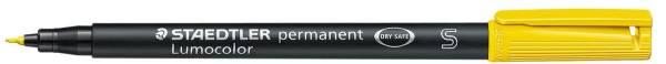 Feinschreiber Universalstift Lumocolor permanent, S, gelb®