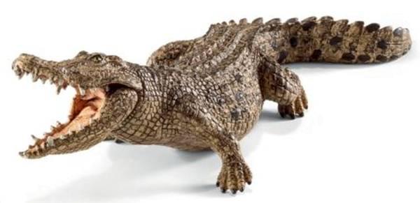 Spielzeugfigur Krokodil