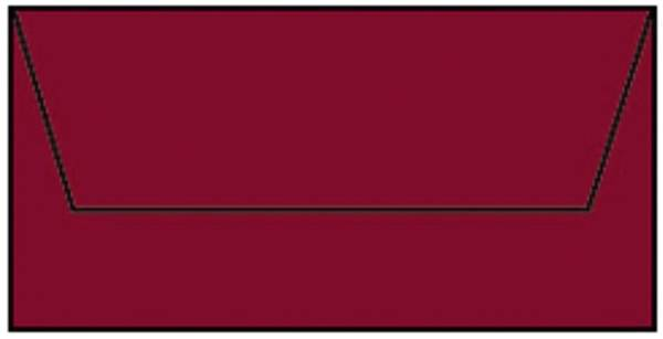 RÖSSLER Briefhülle DL 5ST rosso 220702572
