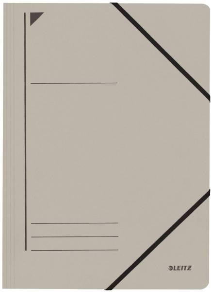 3980 Eckspanner A4, 250 Blatt, Pendarec Karton (RC), grau