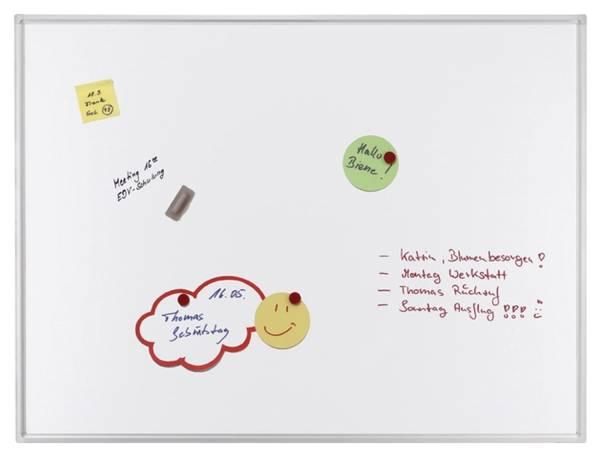 FRANKEN Schreibtafel 200x100cm weiß SC4204 ECO