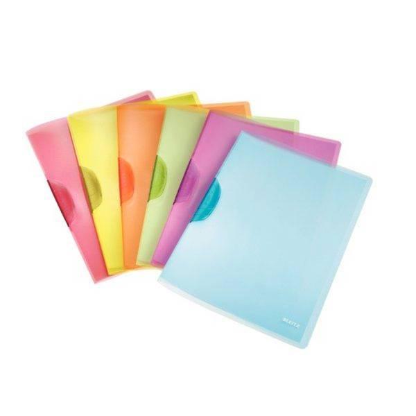4176 Klemmmappe ColorClip Rainbow, A4, PP, sortiert