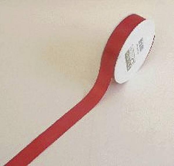 Basic Taftband 25 mm x 50 m, rot