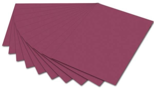 Tonpapier A4, weinrot