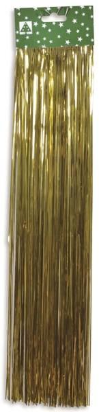 Riffelmacher Weihnachtsschmuck Folien Lametta gold 48cm