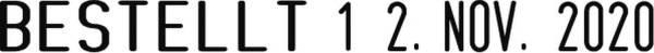 COLOP Zwölf-Zweckstempel mit Datum 04000/WD 4mm